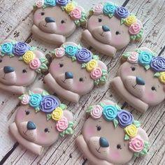 Jenny Peterson (@jennyssweetcheeks) • Instagram photos and videos Bear Food, Bear Cookies, Cuddling, Kawaii, Photo And Video, Christmas Ornaments, Holiday Decor, Videos, Cute