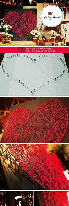 Heart  #diy #christmas #decorations