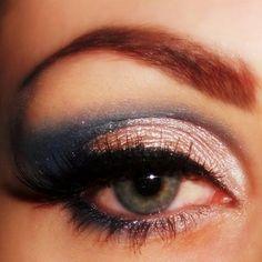 Indigo Eyeshadow Makeup
