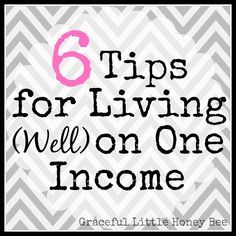 Living on one income doesn't have to be scary. Follow these tips and you will be living your dream of staying at home in no time!