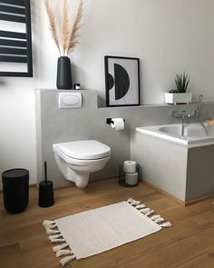 Bathroom flooring: know the main materials to coat - Home Fashion Trend Nordic Living, Home And Living, Home Decor Shops, Bathroom Flooring, Bathroom Inspiration, Bathroom Ideas, Design Inspiration, Home Staging, Modern Bathroom