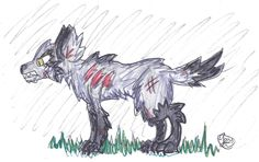 """Its a wolf.. or as I like to call them a """"woof"""" ~cherrydragon6"""