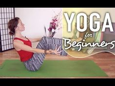 Yoga For Beginners - Boat Pose. Yoga Pose Breakdown - YouTube