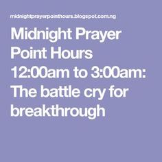 20 Best Midnight Prayer images in 2018 | Midnight prayer, Power of