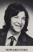 Howard Stern in his 1972 yearbook at South Side high school in Rockville Centre, New York. Celebrity Yearbook Photos, Yearbook Pictures, Celebrity Pictures, Celebrities Then And Now, Young Celebrities, Young Actors, Happy Birthday To You, Childhood Photos, People Of Interest