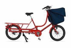 BICICAPACE | Justlong Le Cargo, Cargo Bike, Mk1, Christiania Bike, Siege Bebe, Benne, Pvc Fabric, Commuter Bike, Kids Seating