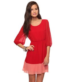 A lovely colorblocking beauty. Only $27.80 AND you can definitely get more than one wear out of this!