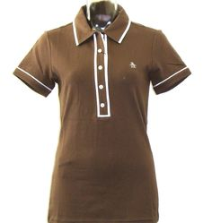 Original Penguin By Munsingwear Veronica Ladies' Brown Polo Shirt    $79.00
