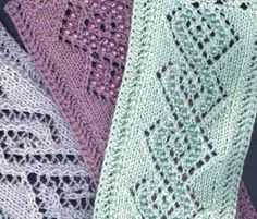 Beaded Lace Cable ... by JackieES | Knitting Pattern