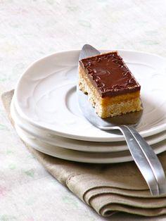 Plateful: Chocolate Caramel Slice — the perfect holiday treat