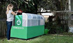 Buenas noticias para el medio ambiente! Esta máquina convierte la basura en gas para cocinar