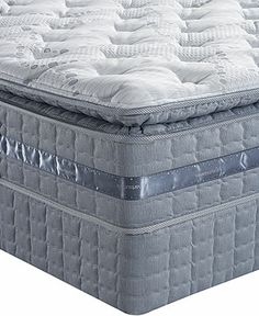 Serta Perfect Sleeper Elite Serenity Bay Pillowtop Plush Queen Mattress Set - Queen Mattresses - mattresses - Macy's
