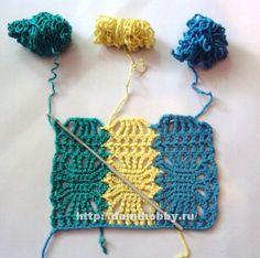 Crochet Stitch in Color - Chart ❥ 4U // hf