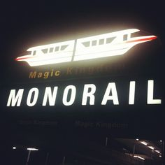 As a kid, I thought that monorails were like THE coolest thing you could EVER ride in. They're faster than trains, trollies, cars, and boats! And they made me feel on top of the world (or at least Disney World)(: