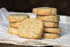 Bleu cheese Parmesan shortbread hiking cookies