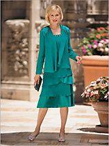Jubilee Tiered Jacket Dress | Drapers