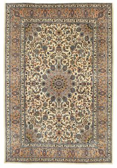 CarpetVista Patina is a series of carefully selected Persian carpets. These carpets have a certain wear that does not reduce the impression of them, and is in fact part of their beautiful natural aging process. Common to these selected carpets is that they are at least 40 years old and have an elegance and harmony in both pattern and colour.  Kashmar Patina carpet EXW43 294x200 from Persia / Iran - Buy your carpets at CarpetVista.com