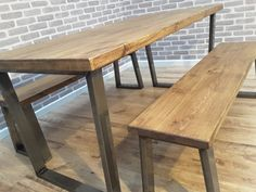 Hoxton Rustic Industrial Reclaimed Wood by TrentsideFurniture