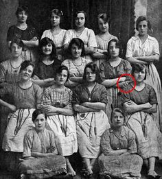 Everything seems totally ordinary, until you take a closer look at this photo taken over 100 years ago.