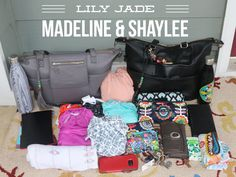 Hello fellow diaper bag lovers, Today I wanted to write about a highly requested Lily Jade bag comparison. The Madeline and Shaylee are the 2 smallest bags in the 2.0 line released last fall.…