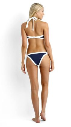 Just what you need for summer! High Neck Knockout Bikini. TheChicFind.com
