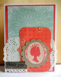 Silhouette Cameo Card - Two Peas in a Bucket