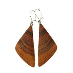 Ohrhänger aus Naturholz - verschiedene Hölzer - Sacred Designs