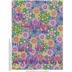 Hello Angel Positive Inspirations Coloring Collection Adult Coloring Book