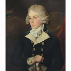 Attributed to William Owen Portrait of an Officer Oil on canvas 30 x 25 inches (76.2 x 63.5 cm)