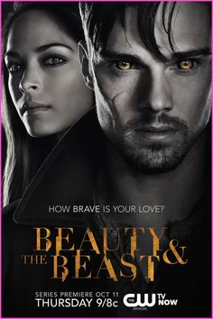 """CW's """"Beauty And The Beast"""" TV Show Poster"""