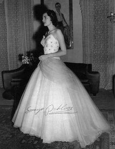 Queen Soraya of Iran Tilda Swinton, Maria Callas, Elizabeth Taylor, Brigitte Bardot, Sophia Loren, Ute Lemper, Dior Wedding Dresses, Royals Today, Persian Princess