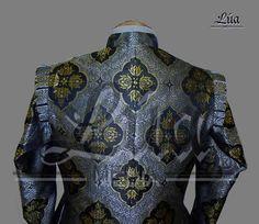 Jubón siglo XVII, confeccionado en damasco.  http://lua-media.tienda-online.com/