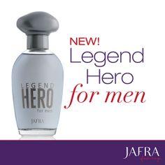 New! Legend Hero for men from JAFRA. #JAFRA #LegendHero #MensFragrance http://jafra.me/49pp