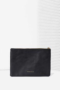 Monserat de Lucca Belota Leather Clutch