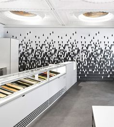 ice cream store branding design