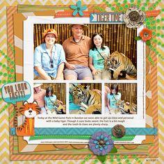 2011 Wild Game Park - Bandon - Tiger Baby - Scrapbook.com