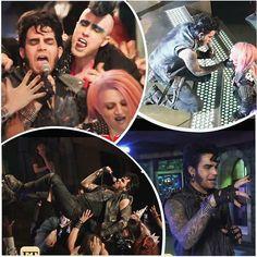 """Adam Lambert as """"Eddie"""" #RHPS"""