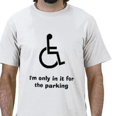 art330, I'm only in it for the parking T-shirts