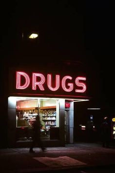 Drug Store at Night Pink Neon Sign Photographic Print .- Drug Store at Night Pink Neon Sign Photographic Print – Drug Store at Night Pink Neon Sign Photographic Print – - Neon Aesthetic, Night Aesthetic, Aesthetic Images, Aesthetic Collage, Aesthetic Vintage, Bad Girl Aesthetic, Red Aesthetic Grunge, Alcohol Aesthetic, Aesthetic Space