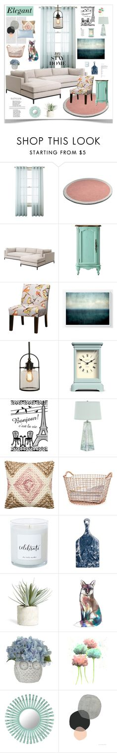 """""""Teal & Pink"""" by zoe-jean-shop on Polyvore featuring interior, interiors, interior design, home, home decor, interior decorating, Oris, Royal Velvet, Home Decorators Collection and By Zoé"""