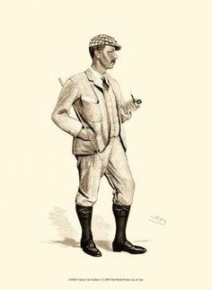 Vanity Fair Golfers I by  Spy