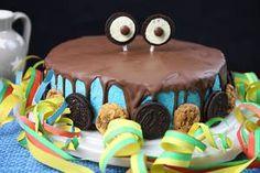 Krümelmonster-Kuchen