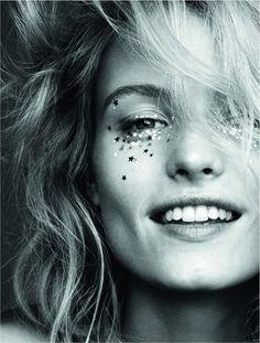 Elle Sweden, January 2016 festival glitter More