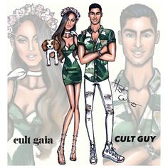 hayden_williams: Getting into the festival vibes with sibling designers @cultgaia & @cultguy founded by @jasminlarian & @cameronla #CultGaia #CultGuy