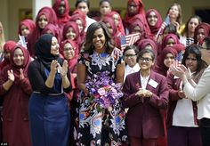 16june2015--- first lady michelle obama in london, england