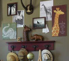 Love this wall decor for Sam's Lion King nursery!
