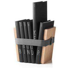 Menu Bookbinder boekenstandaard hout small