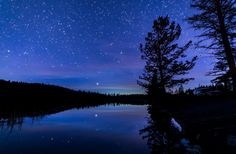 Quiet Lakeside Night - James Wheeler Photography.