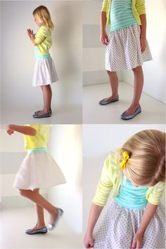 MADE Everyday VIDEO episode: a Simple Skirt–Single and Double layer – MADE EVERYDAY