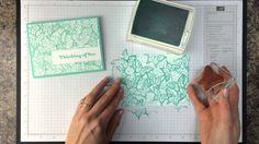 Ink It Up with Jessica TV Episode 2: Background Stamping